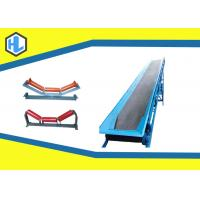 Buy cheap Straight Industrial Belt Conveyors For Bulk Materials Customized Color from wholesalers