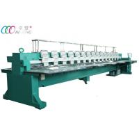 Buy cheap Commercial Multi-Head Flat Embroidery Equipment Machine , 15 Heads 9 Needles from wholesalers