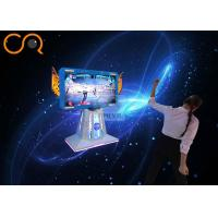 Buy cheap Fashionable 3d Virtual Reality Games Machine 55 Screen , 1.7*0.8*1.8m Size from wholesalers