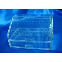 Buy cheap Recyclable Acrylic Display Holders With Drawer For Showing Earrings product