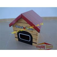 Buy cheap Cute House Shape POP Stand Counter Corrugated Cardboard Ballot Box , Raffle Box  from wholesalers