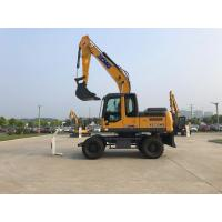 Buy cheap Strong Gradeability Heavy Earth Moving Machinery 15 Ton Excavator XCMG XE150WB from wholesalers