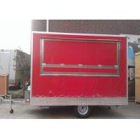 Buy cheap Hamburger Fast Hot Dog Cart Food Concessions Trailers One Layer Gas Oven from wholesalers
