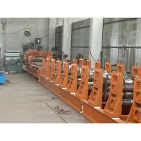 Buy cheap Corrugated Roll Forming Machine , PLC System Silo Making Machine With Anti - Rust Roller from wholesalers