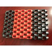 Buy cheap Double Color Anti - Slip PVC Chain Mat In Rolls , Machine Made Pvc Floor Mat from wholesalers