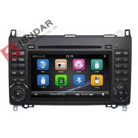Buy cheap B200 Mercedes Benz Car DVD Player 2 Din Touch Screen Car Stereo With Wince System product