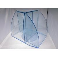 Buy cheap 6mm Candy Acrylic Display Case , Blue Cast Acrylic Travel Case Display product