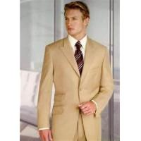 Buy cheap A - V classic three buttons 65% polyester 35% viscose mens business suits from wholesalers