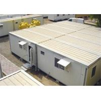 Buy cheap Polyurethene Panel Demountable Foldable Conex Box Homes With Bedroom from wholesalers