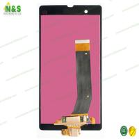 Buy cheap Sony Xperia Z L36H LCD Digitizer Assembly , Black Cell Phone Lcd Screen Replacement AAA from wholesalers