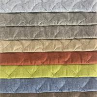 Buy cheap Plain Jacquard Emboss Printing Furniture Upholstery Fabric 200-450gsm Weight product