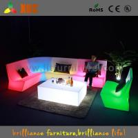 Buy cheap Outdoor color changing LED sectional sofa from wholesalers