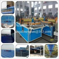 Buy cheap New design light weight, high strength corrugated roofing tile machine production line product