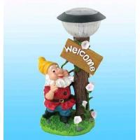 Buy cheap Solar Garden Figurine Lamps ,LED Christmas Lights from wholesalers