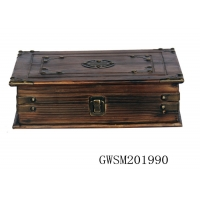 Buy cheap SENMIN Firwood 30* Wooden Storage Trunks And Chests from wholesalers