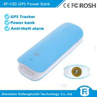 Buy cheap 4500mAh long battery life hidden anti-lost spy gps tracker power bank from wholesalers