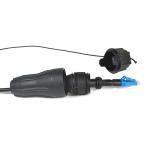Buy cheap CATV 5m Fullaxs Lc Waterproof Fiber Optical Cable from wholesalers