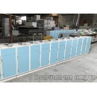 Buy cheap MDF Aluminum Alloy Painted Steel Sheet Modular Laboratory Furniture / Lab Workbench from wholesalers