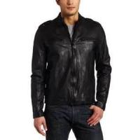 Buy cheap customized S M L XL softshell winter polar Fleece Lined Leather padded Jacket product
