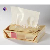 Buy cheap Comfortable Soft Straw Facial Tissue Paper , 100 Sheet Embossed Plastic Pack Tissue from wholesalers