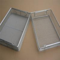 Buy cheap Stainless Steel Wire Mesh Containers 304Ss Metal Mesh Kitchen Vegetable Storage Baskets Laundry Basket from wholesalers