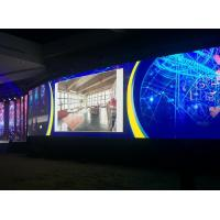 Buy cheap Super Thin P4 Digital Signage Video Wall , Indoor Led Video Wall High Resolution product