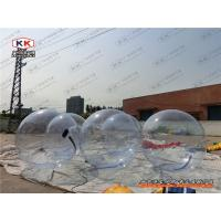 Buy cheap Bumper Transparent Inflatable Water Walking Ball , Human Hamster Ball from wholesalers