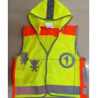 Buy cheap WK-8229 European Standard High Visibility Reflective Children Safety Vest from wholesalers