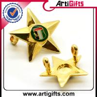 Buy cheap Factory direct sales custom metal sheriff star badge from wholesalers