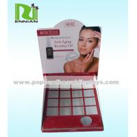 Buy cheap Pop BB Cream Cardboard Counter Displays Skincare Oil Counter Top Display from wholesalers