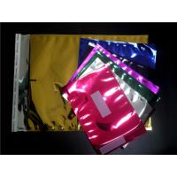 Buy cheap Red Heat Seal Aluminum Foil Bags 6X10 #0 , Anti Static Foil Mailing Bags from wholesalers