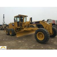 Buy cheap 123 Kw Used Caterpillar Motor Grader , 140H Second Hand Grader Low Working Hours from wholesalers