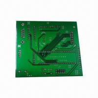 Buy cheap Double-sided PCB Board with 4 Layers and Immersion Gold Surface, Suitable for Microwave from wholesalers