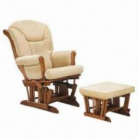 Buy cheap Glider rocker and ottoman, seat with stopper mechanism at 6 positions from wholesalers