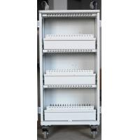 Buy cheap Easy Unload White Beautiful Apple Ipad Cart 54 Units Durable For Bank / Office from wholesalers