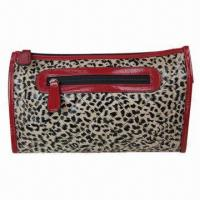 Buy cheap Leopard Animal Print Women's Cosmetic Bag for Travel, Fashionable, Clutch Evening Bag from wholesalers