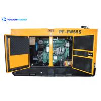 Buy cheap FAWDE Engine 50kva Diesel Generator Super Silent 40kw Canopy Generating 50hz 60hz from Wholesalers