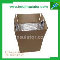 Buy cheap Stop Heat Penetration Keep Cool Thermal Insulation Carton Box Liners from wholesalers