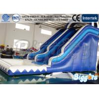 Buy cheap Commercial Inflatable Water Slide , Inflatable Water Games With CE / UL Blower from wholesalers