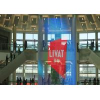 China 80% Transparency See Through LED Screen , High Brightness Store Video Wall on sale