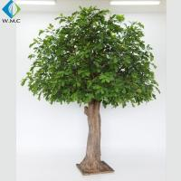 Buy cheap 5-10 Years Lifetime Artificial Evergreen Trees , Coffee Shop Ornament Fake Oak Tree from wholesalers