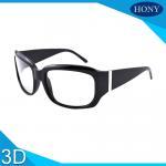 Buy cheap Passive 3D Glasses Cinema Reusable Use Fashion Frame Design Kino Polarized Glasses from wholesalers