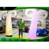 Buy cheap Transparent  PVC Inflatable Lighting Decoration / Inflatable Traffic For Party from wholesalers