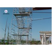Buy cheap Socket And Spigot Joints Type Scaffold Stair Tower For Chimneys Water Towers product
