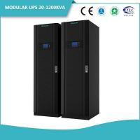 Buy cheap Battery Backup Server UPS System , 3 Phase UPS System Modular Sine Wave Data Center from wholesalers