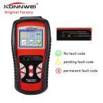 Buy cheap Universal Konnwei OBD2 Scanner 12V Automotive Engine Code Scanners DIY O2 Sensor Live Data from wholesalers