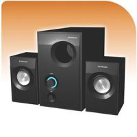 Buy cheap Active 2.1 Multimedia Amplified Speaker System with USB/SD/FM and Remote function from wholesalers