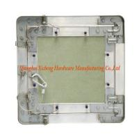 Buy cheap Green Gypsum Board Aluminum Access Panel With Steel Wire Hook from wholesalers