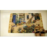 Buy cheap Machine Washable Rubber Floor Carpet Soft With Cute Design For Entrance from wholesalers