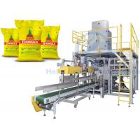 Buy cheap Automatic Granule Packing Machine For 25kg Solid Urea / Polymer Bound Rubber Chemicals from wholesalers
